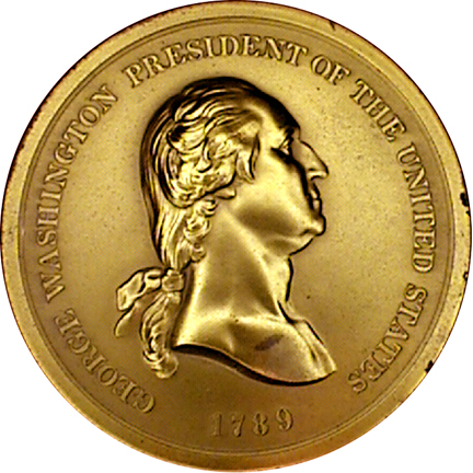 George Washington Indian Peace Medal Struck after 1904